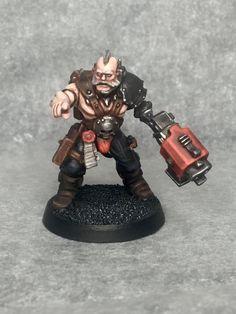 Mercenary/techno barbarian