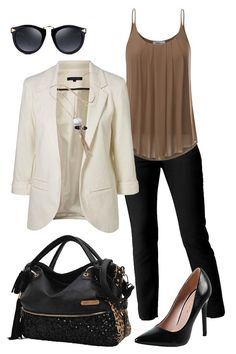 Perfect work outfit, I love everything about this! - Outfits for Work - Business Outfits for Work Stylish Work Outfits, Business Casual Outfits, Professional Outfits, Work Casual, Business Attire, Young Professional, Business Professional, Cute Office Outfits, Casual Office