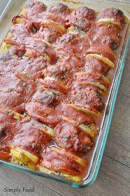 Simply Food: Kotleciki mielone zapiekane z ziemniakami podкотдеты pomidorową pierzynką Pork Recipes, Chicken Recipes, Cooking Recipes, Healthy Recipes, Good Food, Yummy Food, Simply Recipes, Simply Food, Pork Dishes