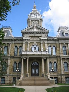 Guernsey County #Courthouse in #Cambridge, #Ohio.    Join us at the Ohio Courthouses Symposium on May 16, 2014 to save Ohio's county courthouses! http://www.ccao.org/ohio-courthouses-symposium