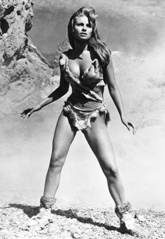 Raquel Welch, One Million Years B.C.,1966 - The Most Iconic Swimsuits Ever - Get Star Style - Fashion - InStyle @blackswanballet