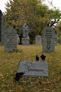 davis graveyard-like the nevermore shape of tombstone