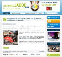 Qualité des graphismes, ergonomie, contenus optimisés… cliquez sur « Like » si vous aimez le nouveau blog des Journées JADDE ! www.blog-jadde.org