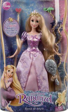 bol.com | Disney Princess Rapunzel Style and Grow, Mattel | Speelgoed