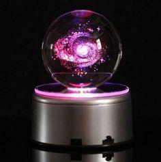 galaxies and stars Galaxy Room, Cute Room Decor, Fantasy Jewelry, Room Accessories, Crystal Ball, Resin Art, Galaxies, Night Light, Snow Globes