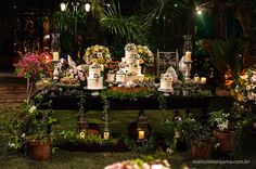 Casamentos - Marcella e Daniel - La Zucca Eventos | Campo Grande - MS
