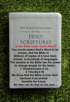 Is the Bible really God's word? VISIT SITE
