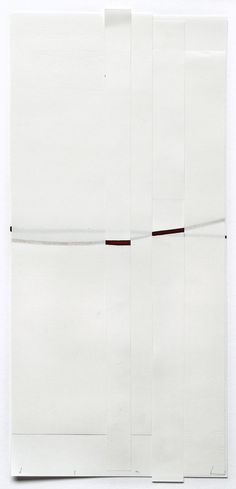 "Harald Kroener, ""11.03.07"", 2007, 13,6 x 29,9 cm"
