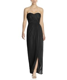 Stylist NotesI love this bridesmaid dress by Dessy because it's so elegant and flattering to many body types. -MorganDescriptionDessy Collection Style 2882Full length bridesmaid dressSweetheart necklineNatural waistLux chiffon