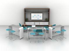 Haworth - Idea Starter 210 - Design Intent: Collaborative Space / Public Space by Haworth Inc.
