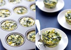 Spinach Artichoke Quiche Cups by @gimmesomeoven
