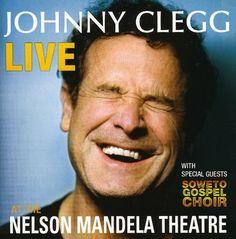 Johnny Clegg Live at the Nelson Mandela Theatre Album Cover