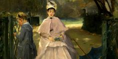 EVA GONZALEZ (1849/1883), FRENCH PAINTERS: Like a pupil of Manet, but exploring her creative individuality   Meeting Benches
