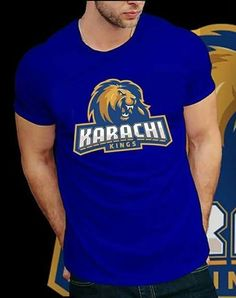 e442bcacf0e0e4 Buy Karachi Kings T-shirt For Men at Juniba  PSL  PSL2019  PSLTeams