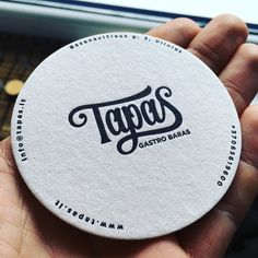 Logo for upcoming Spanish gastro bar in Vilnius together with https://dribbble.com/Paukste  Attaching some amazing food photos by Martyna Jovaisaite  www.tapas.lt