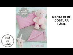 MANTA BEBÉ COSTURA FÁCIL / Knit and Love