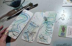 Meist erschließen sich Zusammenhänge erst wenn man alle Stücke richtig aneinanderfügt.  #GuteNachtKlex .  Diese Lesezeichen sind eine Sonderanfertigung und nicht zu haben. Doch solche oder gegenständliche Arbeiten können natürlich auch nach eigenem Wunsch bei mir in den Shops wandklex.etsy.com und wandklex.dawanda.com versandfertig gefunden oder nach Wunsch bestellt werden.  Material : Schmincke Künstlerfarben Horadam und Volvox reichgold Pigmente auf @hahnemuehle Britannia 300g rauh…