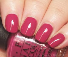 OPI New Orleans Spare me a French Quarter. Entire page Pink Toe Nails, Dark Pink Nails, Cute Pink Nails, Toe Nail Color, Summer Toe Nails, Spring Nails, Summer Pedicures, Nice Nails, Cute Nail Polish