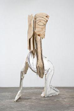 Thomas Houseago, 'Serpent,' 2008, Xavier Hufkens