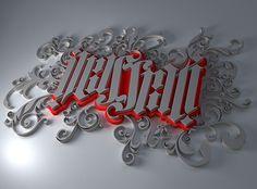 Illustrati-3D #lettering #typography