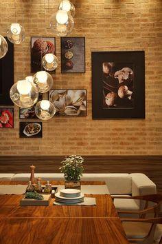 Fotos na decoração: 20 ideias de composições - Casa I LIKE THE OVERALL STYLE