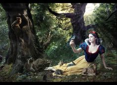 Rachel Weisz as Snow White - Love this series done by Anne Lebowitz a favorite photog of mine.