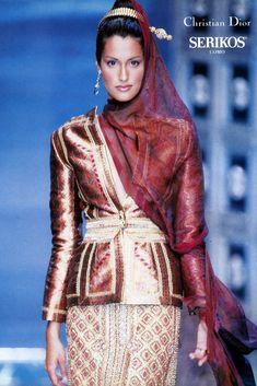 Yasmeen Ghauri, Christian Dior Haute Couture