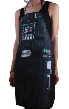 Darth Vader BBQ apron. I prefer dark meat. Very dark...