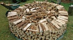 the best way to stack firewood - we tell you how