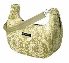 Petunia Picklebottom- Touring Tote Diaper Bag - Moroccan Mint Chenille