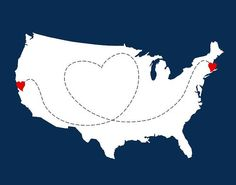 Love Story USA Map With Florida Cities Islands Cuba Dominican - Map of us and dominican republic