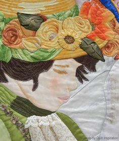 Pierre Renoir-inspired quilt by Sheila Steers. Quilt Inspiration: World Painter's Challenge. 2016 AQS.