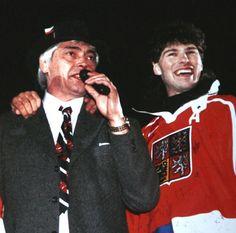 Ivan Hlinka a Jaromír Jágr - Nagano 1998