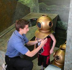 musée et sous-marin à rimouski 2013, Underwater, Madeleine, Travel