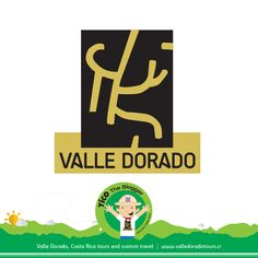 What do you think about Valle Dorado Tours logo? It was inspired in one of the signs etched on stones found in the mystical Guayabo National Park, the mecca of culture in Costa Rica.