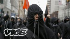 What do you think this The Black Bloc: Inside America's Hard Left video? The left-leaning anti-fascist movement—or Antifa—has been around for decades, popping Teaching Critical Thinking, How To Find Out, How To Become, Vice News, Democratic Socialist, 2016 Presidential Election, Black Mask, Expressions, Right Wing