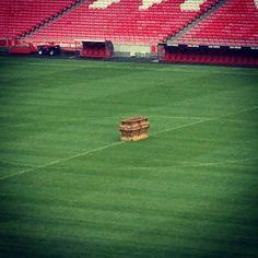 Caixão de Eusébio no Estádio da Luz -Funeral de Eusébio - Benfica