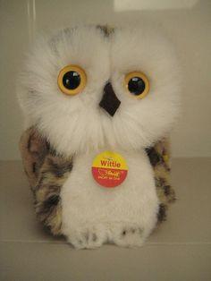 Steiff Vintage Wittie Owl  All IDs  Born between by GrandmaJer, $29.99