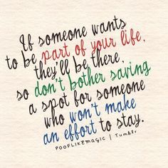 Amen! Actions speak louder than words. And I'm not gonna beg one if put my everything out there.