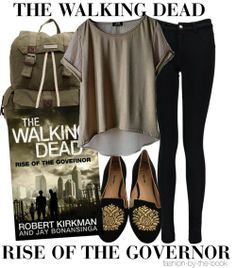 Casual walking dead outfit (rise of the Governor)