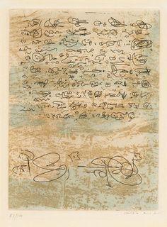 Max Ernst - Écritures, 1970