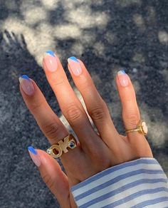 "THE DROBE MELBOURNE's Instagram profile post: ""Via: @karla_alajdi"" Aycrlic Nails, Hair Skin Nails, Milky Nails, Fire Nails, Nail Ring, Minimalist Nails, Cute Acrylic Nails, Perfect Nails, Nails Inspiration"