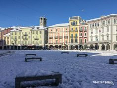 Piazza Grande Locarno, Ticino, Switzerland Piazza Grande Locarno, Let It Snow, Places Ive Been, Street View, Travel, Beautiful, Switzerland, Middle Fingers, Viajes