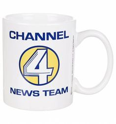 Anchorman Channel 4 News Team Mug