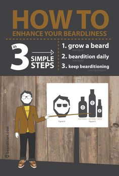 How to ENHANCE YOUR BEARDLINESS in 3 simple steps...  #beards #mensgrooming