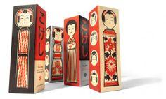 As Kokeshi Blocks, com design da House Industries, carregam em sua essência a celebração do artesanato da tradicional arte japonesa Kokeshi