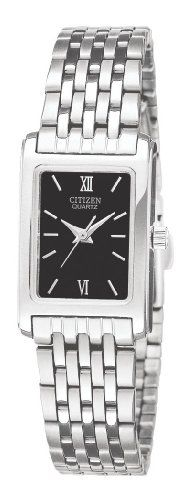 Citizen Womens EJ585057E Analog Display Japanese Quartz Silver Watch >>> You can find more details by visiting the image link.