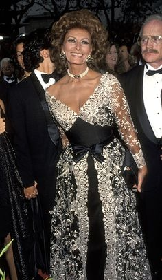 Sophia Loren at an event for The 65th Annual Academy Awards (1993)