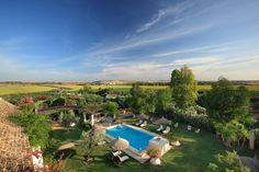 Hoteles fuera de la ciudad de España: Hacienda de San Rafael (Sevilla)