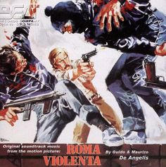 "A long waited release, the original soundtrack music by De Angelis brothers of the movie ""Roma Violenta"" (1975) ~ (aka Forced Impact - Violent City - Violent Rome). An hour of music in the typical Italian cop style with guitars, shakes and more descriptive themes. A world premiere release with an 8 pages booklet with the story of the movie, poster, lobby cards, liner notes, and high quality graphic! EZ~Beat Approved!"